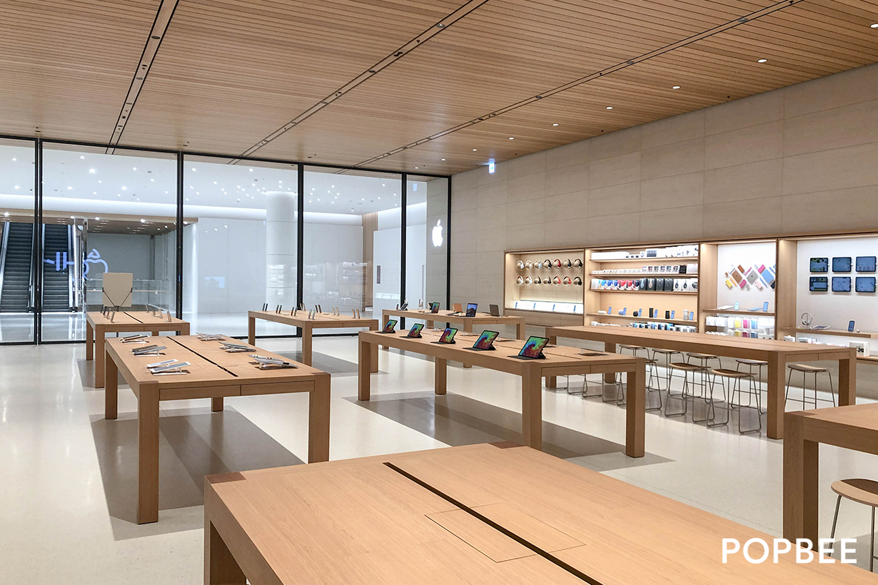taipei apple a13 new store xinyi flagship park taiwan