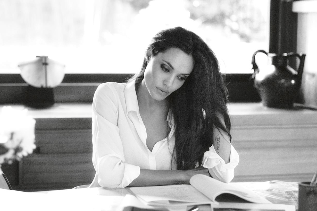 angelina jolie become time editor magazine