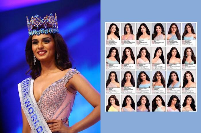 印度選美小姐惹爭議!30 位佳麗照片曝光,引起一陣譁然:「全部都是同個人?」