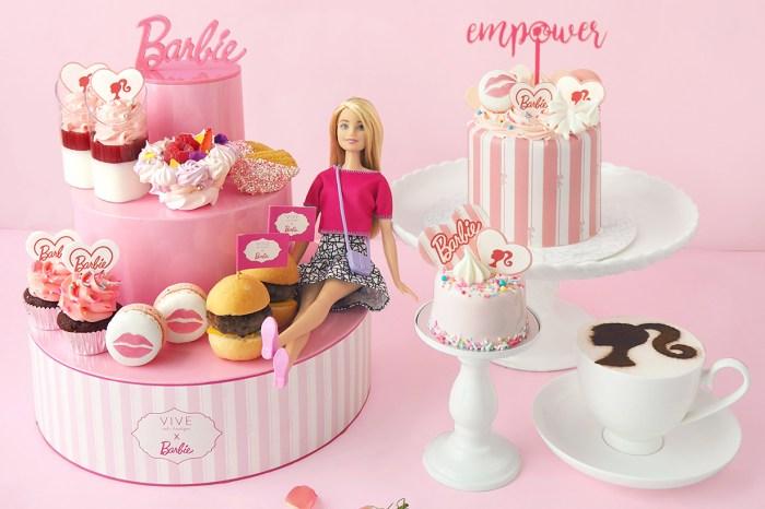 ViveCake Boutique 推出 Barbie 造型蛋糕!絕對是生日必送的賀禮