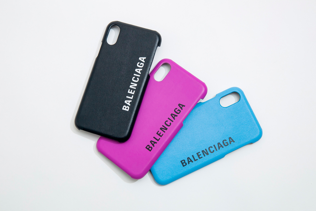 balenciaga iphone case logo new 2019 fall
