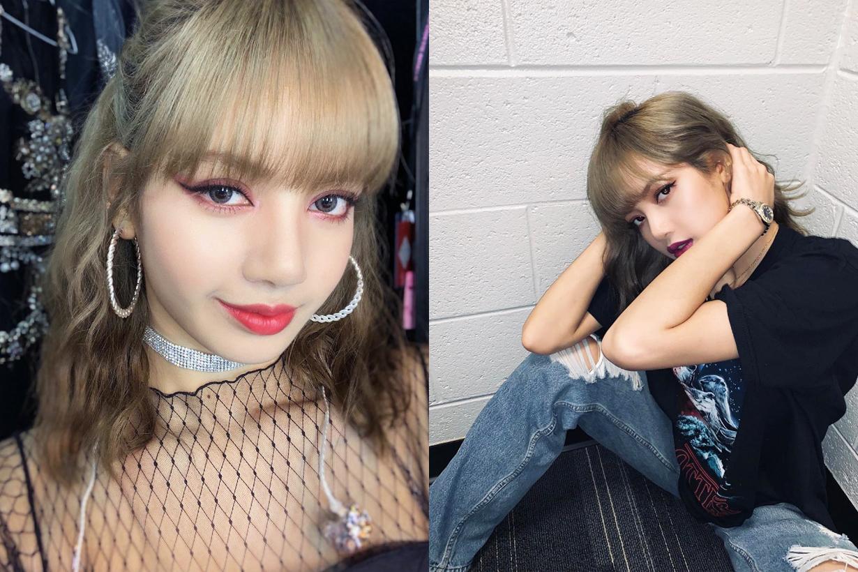 BLACKPINK Lisa Jennie Jisoo Rose Likeit Hair Korea Ballet Pink Hair Colour Hair Dye Living Barbie Doll K Pop Korean Idols celebrities singers girl bands