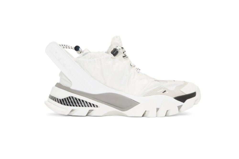 Calvin Klein 205W39NYC White Nylon Caramene 8 Sneakers