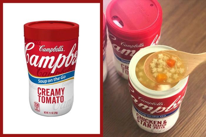 「隨行湯」才是現在大熱!日本金寶罐頭推出即飲湯 Soup on the Go 系列!