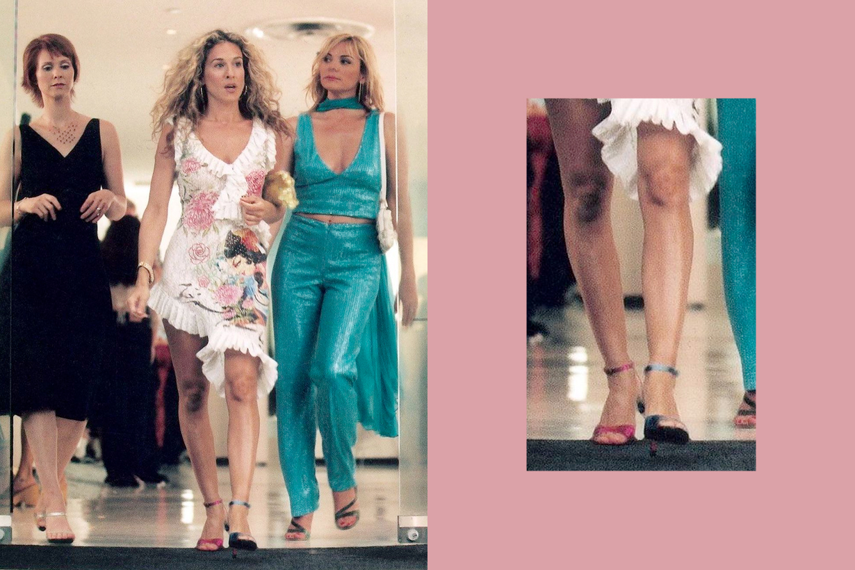 sarah jessica parker sex and the city christian louboutin mismatched reason