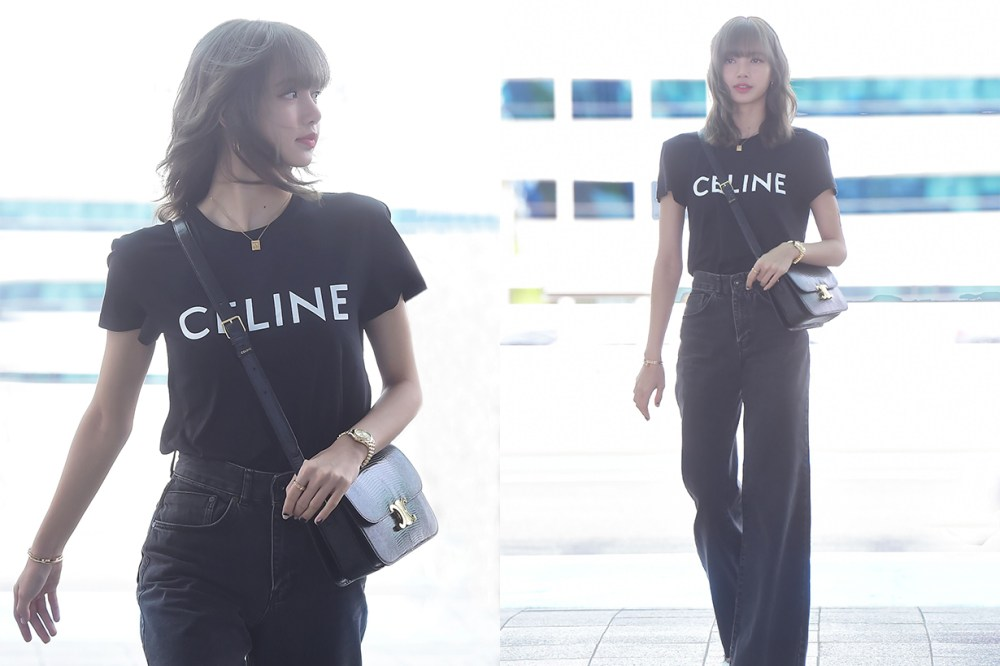 Image result for lisa blackpink celine