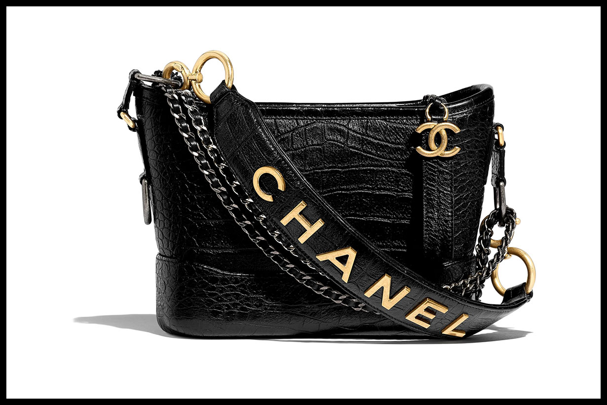 Chanel Gabrielle Hobo bag 2019