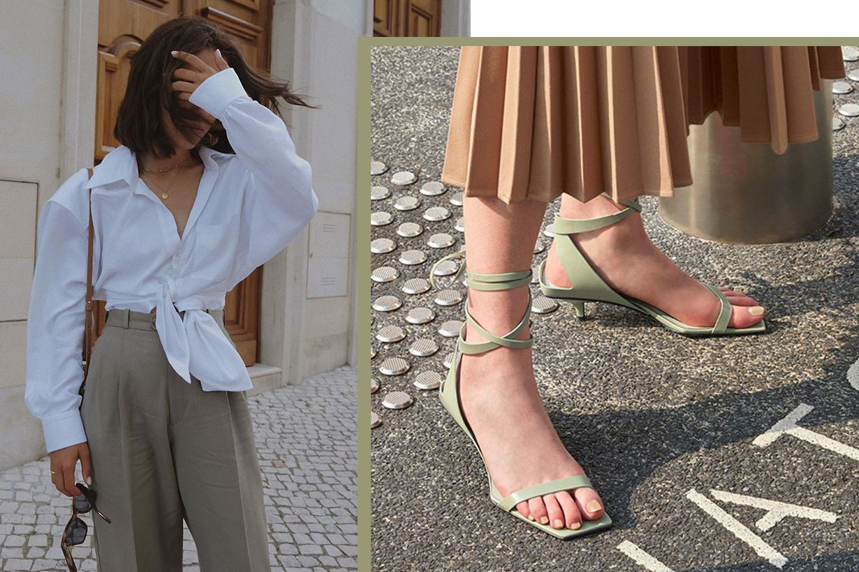 Charles & Keith sandals summer 2019