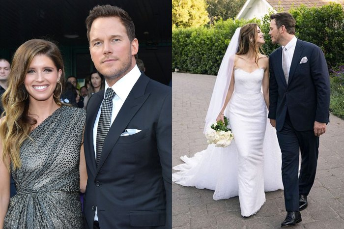 「星爵」婚禮細節曝光!妻子身穿設計師婚紗、就連前妻也出席?
