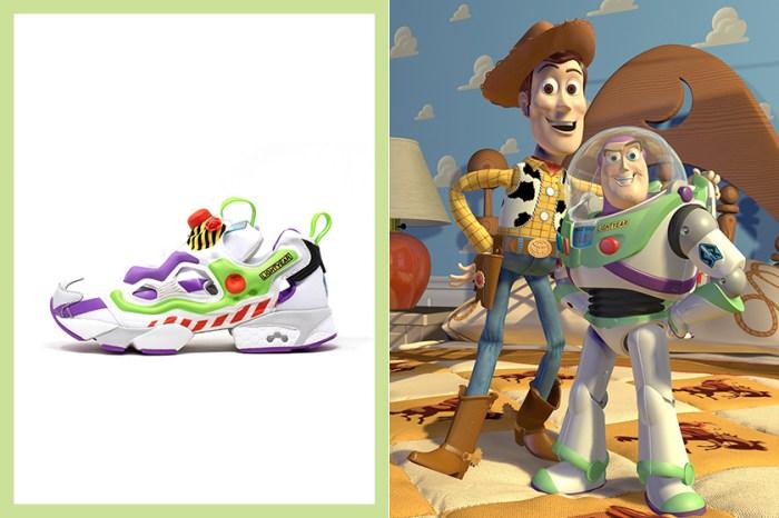 可愛度爆燈:《Toy Story》 這雙聯乘波鞋,配色竟然就是胡迪與巴斯光年!