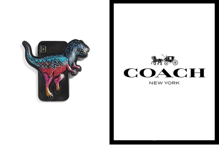 用膩了現在的手機殼!Coach 這款超霸氣恐龍 iPhone Case,你會買單嗎?