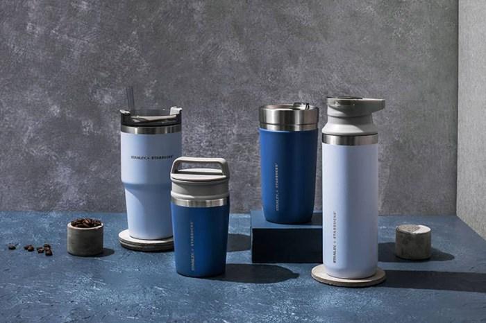 清新的天空藍:Starbucks x Stanley聯名保溫瓶第二彈,帶來一劑初夏的味道!