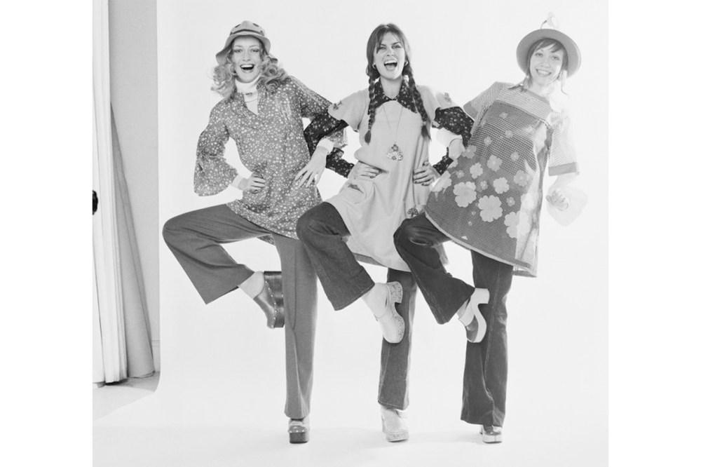 Caroline Munro, Nikki Ross and Lula Wore Clogs