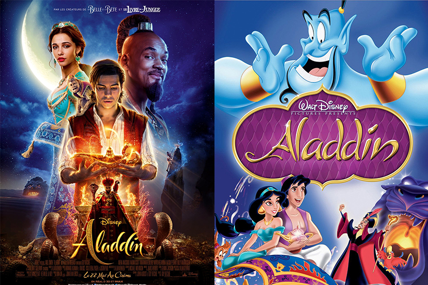 Disney Aladdin Differences Between Reboot and the Original