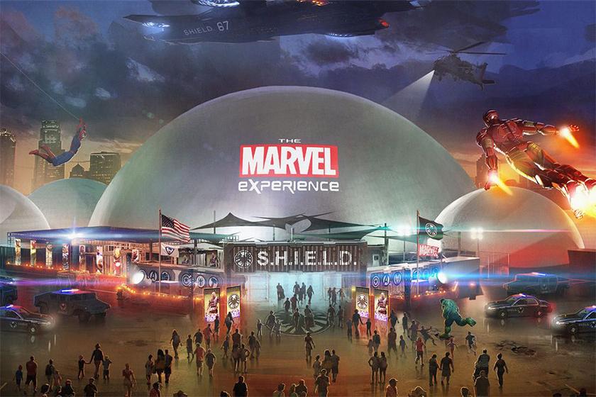 disney marvel land theme park expansion