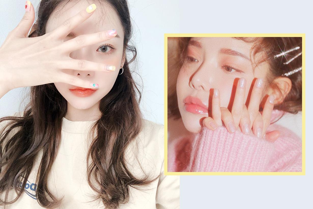 Korea Innisfree manicure DIY nail shaping square round nail tips skincare korea beauty tips