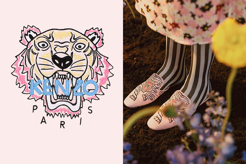 Humberto Leon and Carol Lim design Kenzo Tiger logo