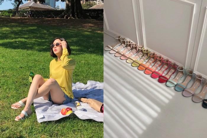 夏天還沒正式開始,但這款「糖果色」鞋款韓國女生已經人腳一雙了!