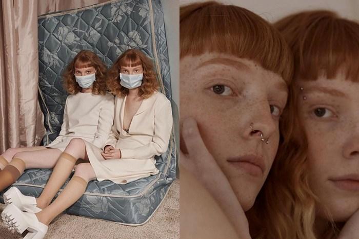 非主流美正在發酵,這一對特立獨行的雙胞胎模特兒:「我們不侷限在標準美的框架中。」