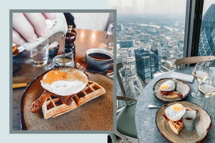吃貨喜訊:英國名店 Duck & Waffle 落戶香港,不用飛倫敦也吃到招牌窩夫!