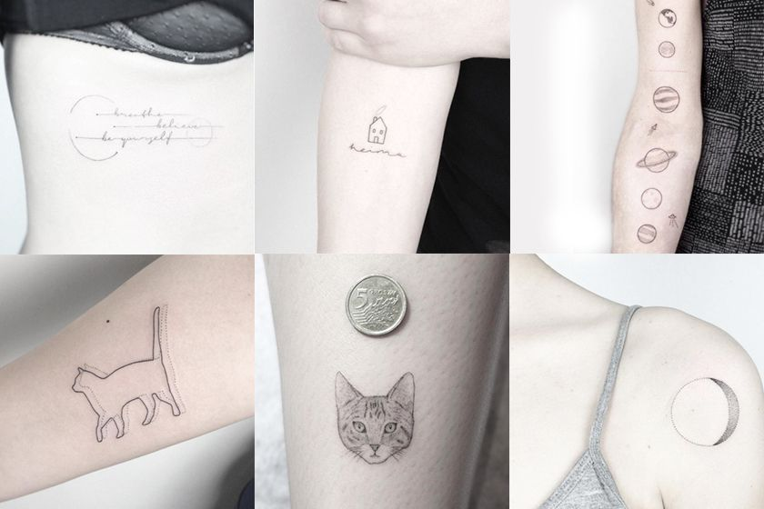 minimalist tattoo idea inspiration from instagram