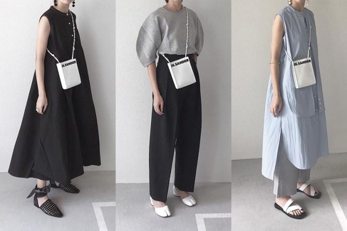 一抹淡色調:將相同單品「重複搭配」,向這位日本博主偷師她的極簡穿搭風格!