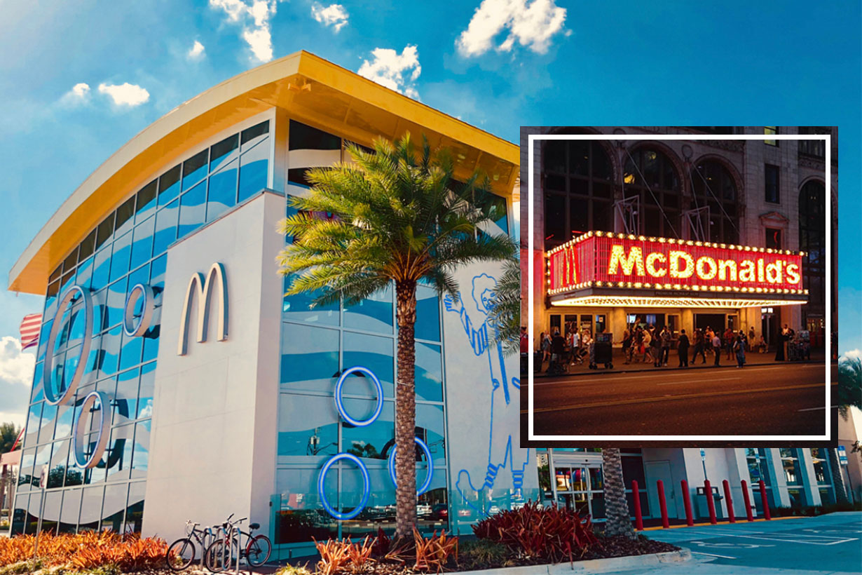 4 epic mcdonald's in the world