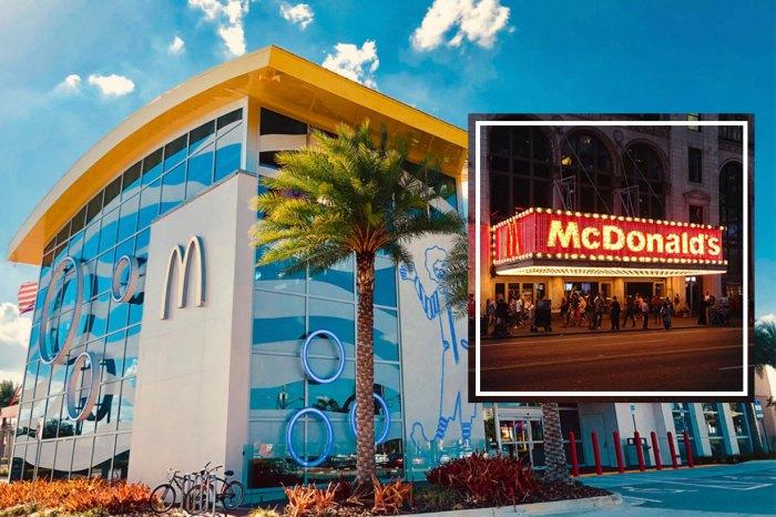 絕對值得到此一遊!讓你大開眼界的 4 間「世界之最」麥當勞