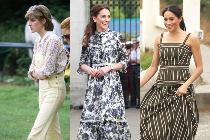 從戴安娜到凱特與梅根,英國王室成員夏日最愛的涼鞋是這款!