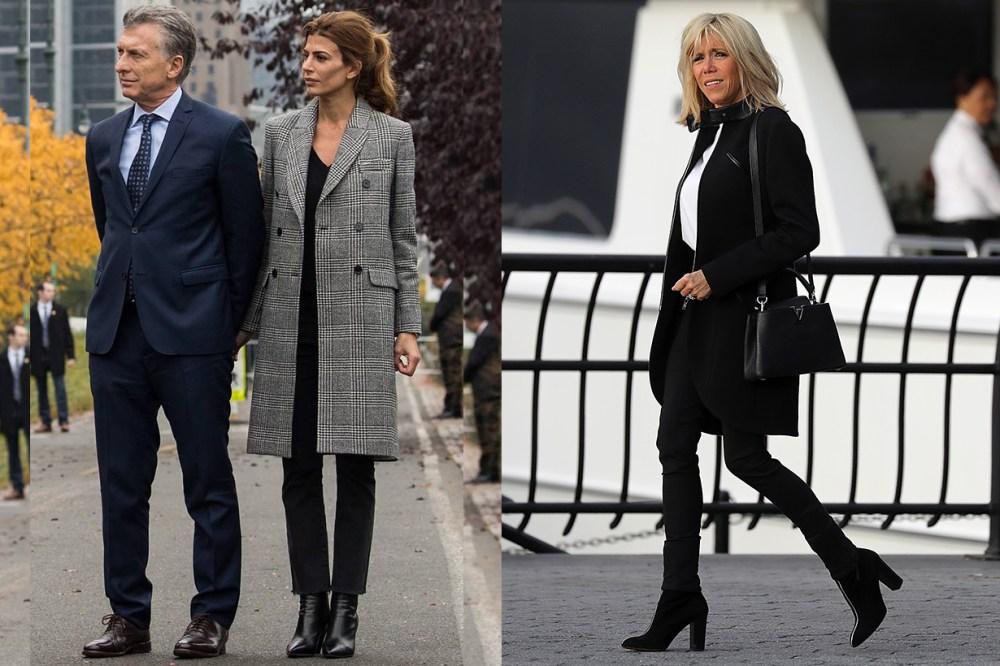 Brigitte Macron, Argentina's first lady