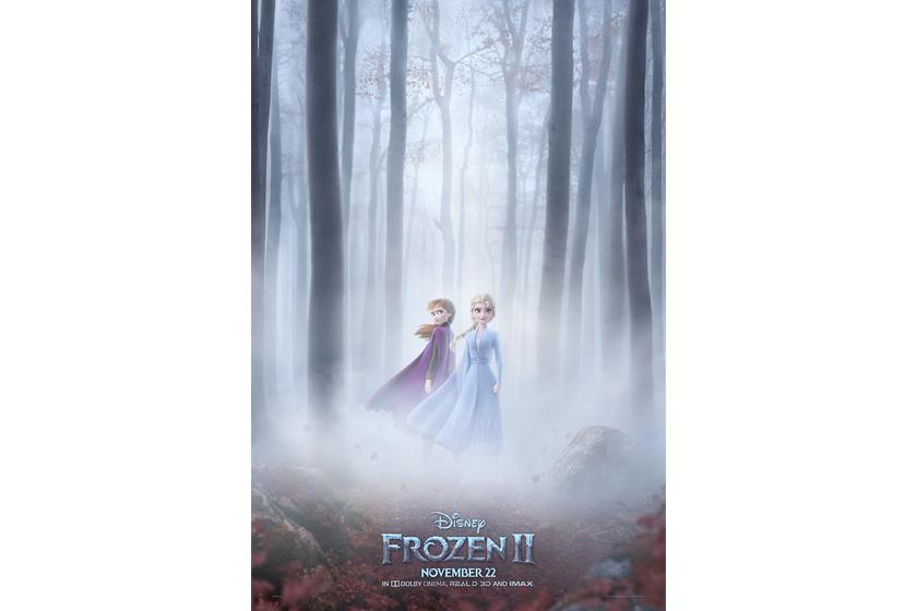 frozen 2 movie poster release trailer premiere tomorrow good morning america disney