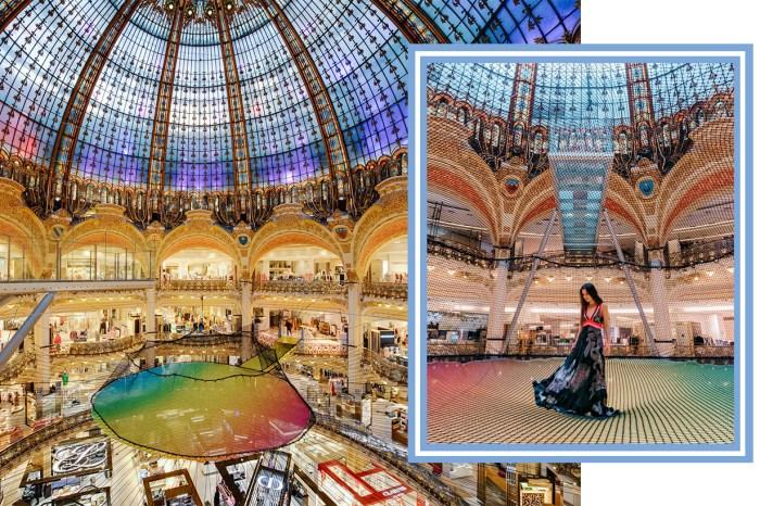 巴黎朝聖必到!Galeries Lafayette 從百貨公司搖身一變為幻彩遊樂場,令賓客樂而忘返!