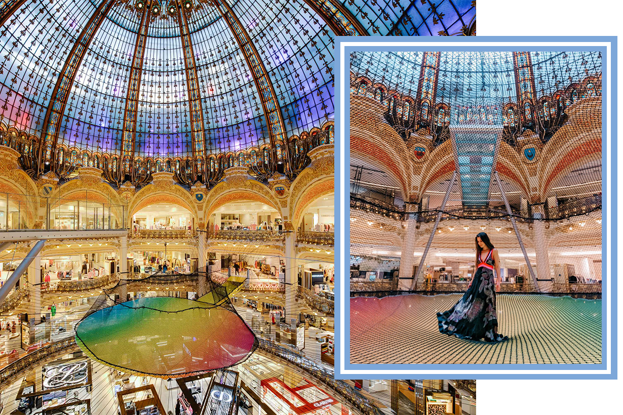 Funorama: Galeries Lafayette is Transformed into a Giant Playground