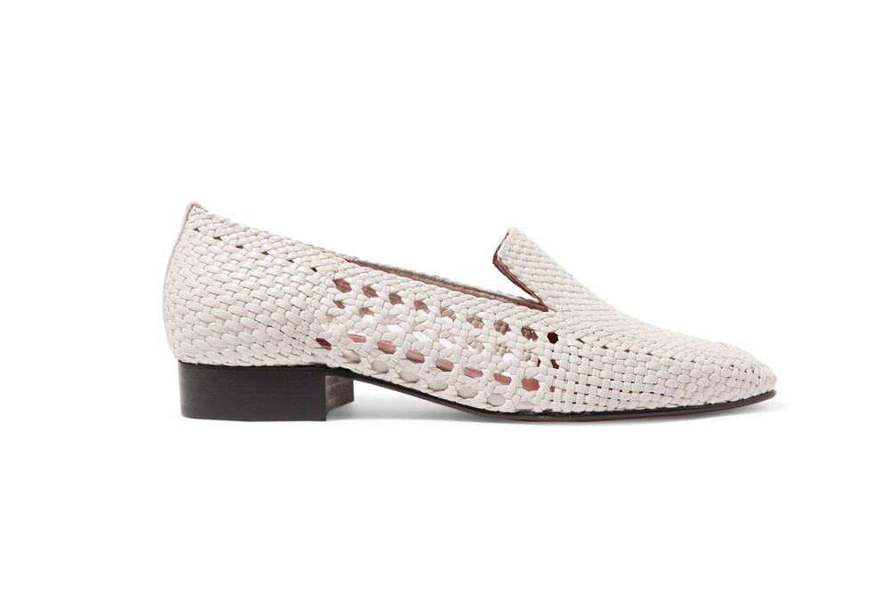 Gerona Woven Leather Loafers