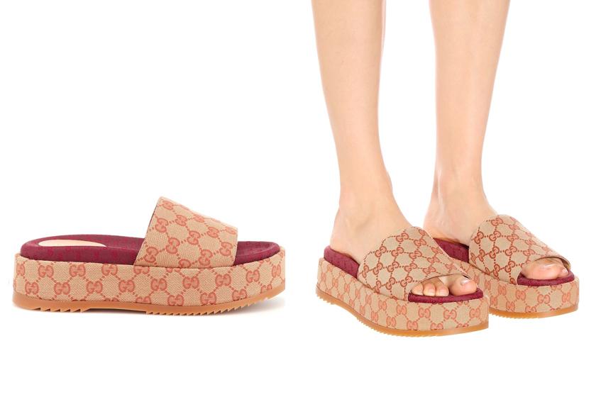 gucci platform sandals logo mania monogram 2019 summer
