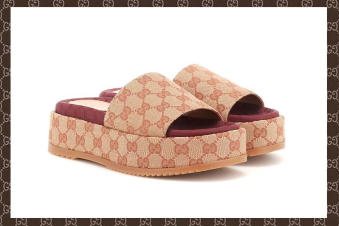 Gucci 推出 70 年代超復古「厚底拖鞋」,Logo 控鐵定二話不說加入購物車!