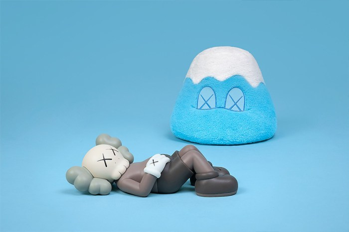 《Kaws:Holiday》第四站來到日本富士山,周邊商品號稱目前最大規模!