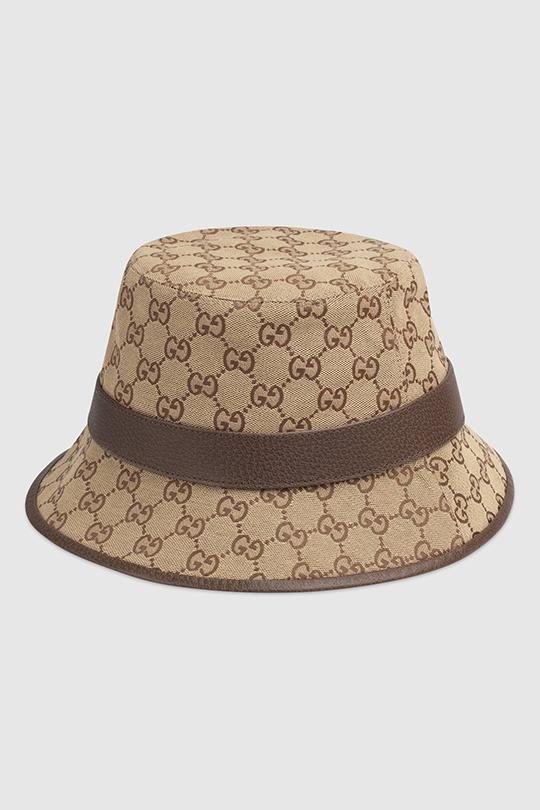 gucci monogram GG Logo Fedora Hat