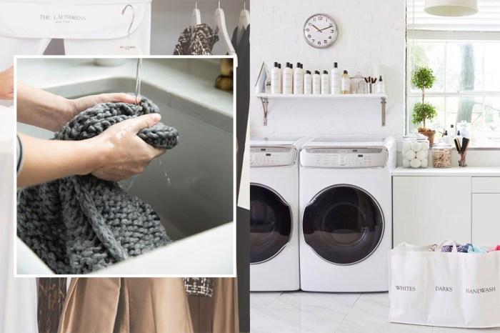 別再到乾衣店浪費金錢!這一個方法能讓你在家裏輕鬆清洗「只可乾洗」的衣物!