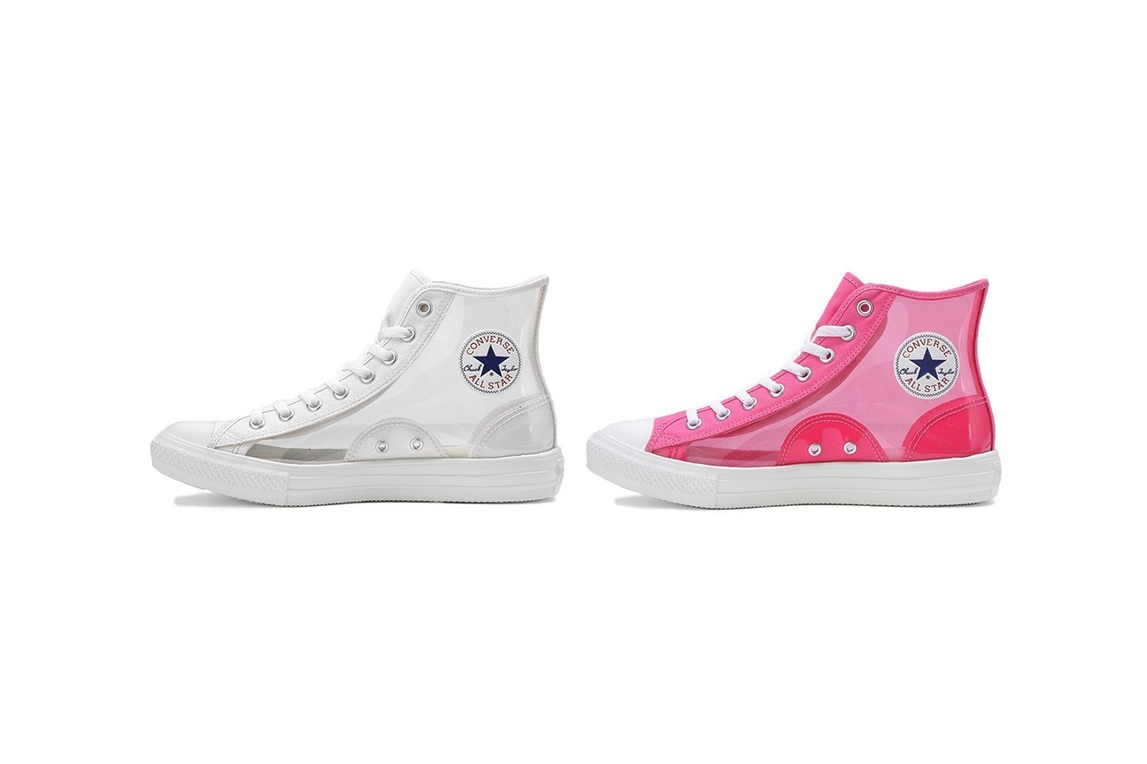 Coverse Japan new All-Star Light Clear Material Hi