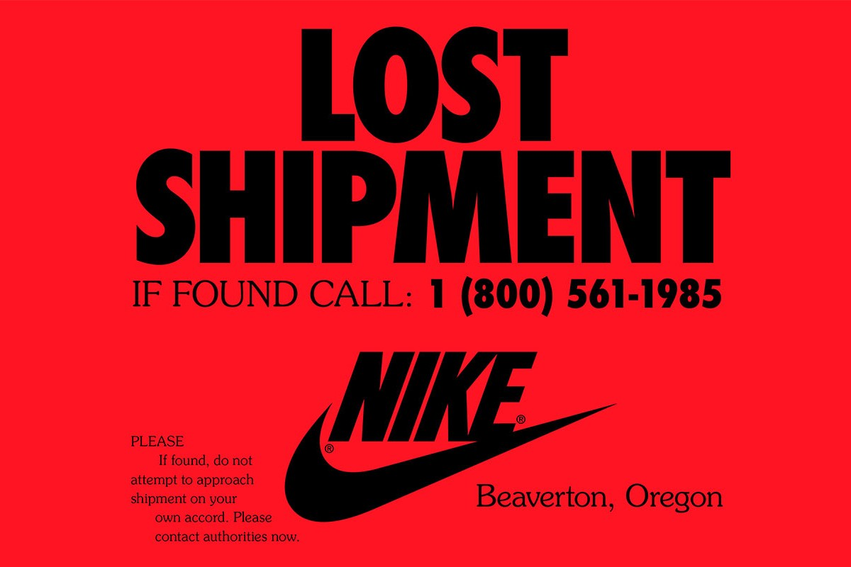 Nike x Stranger Things launches 1985 lost shipment campaign
