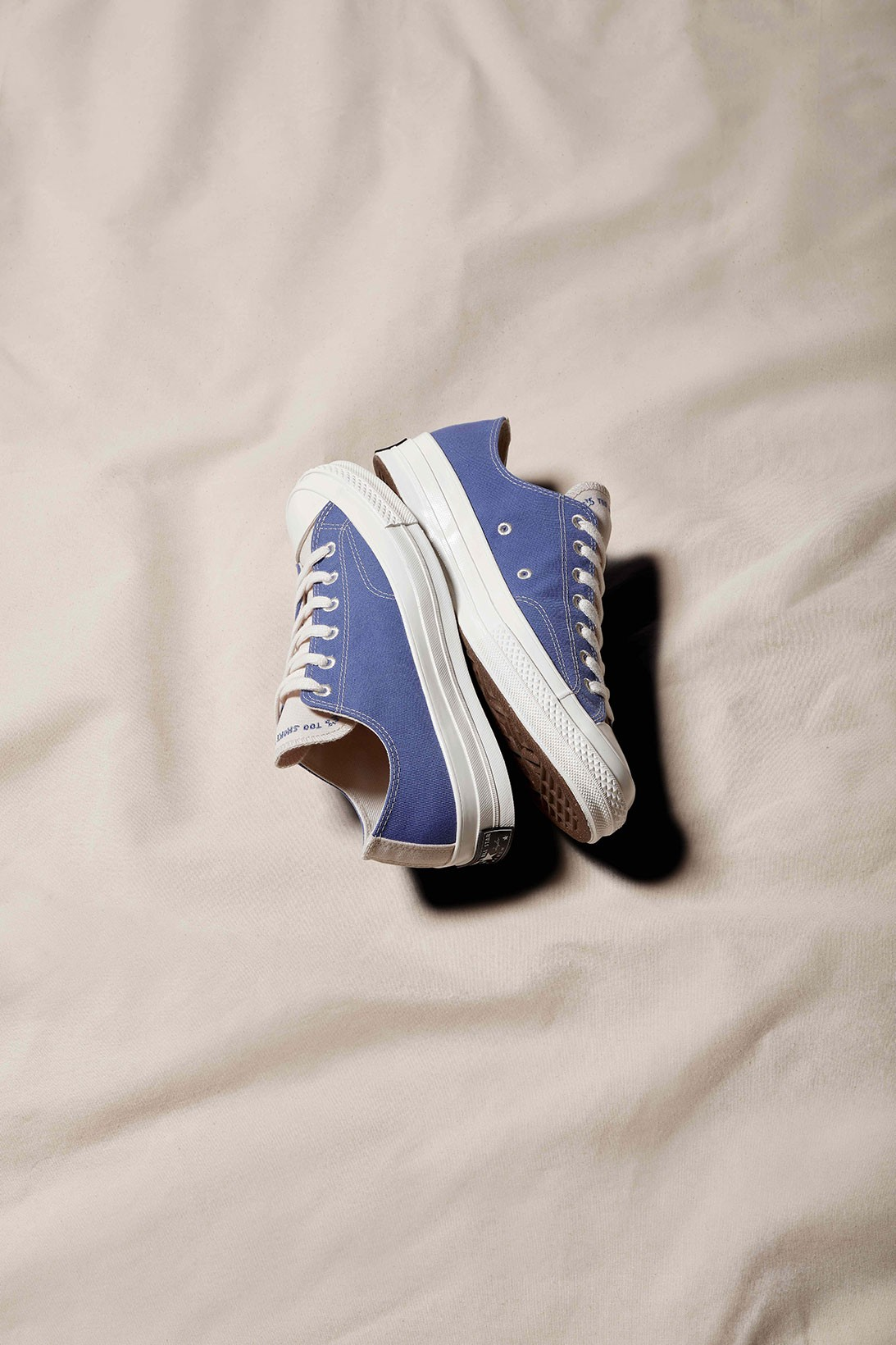 converse chuck Taylor all star made from sustainability plastic