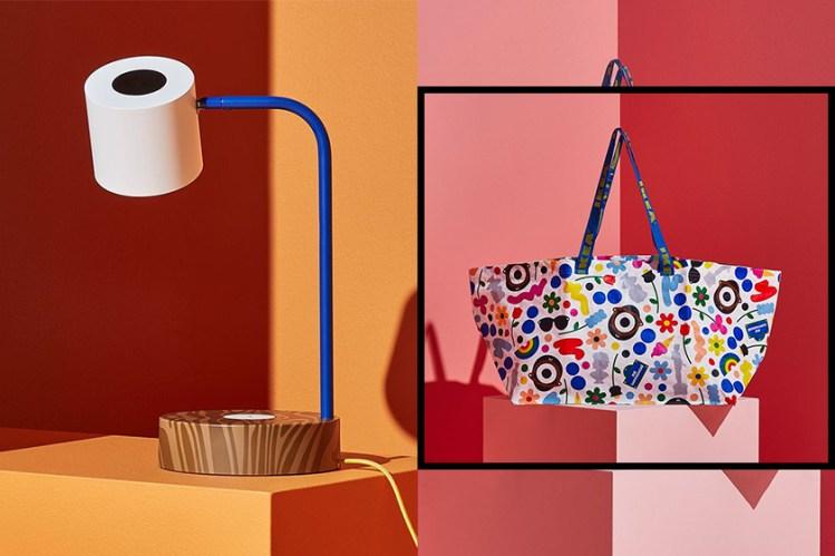 這個 Ikea 購物袋必搶!全新系列 FÖRNYAD 找來 Colette 創意總監 x Darcel Disappoints 合作!