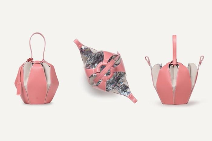 彷彿就像含苞待放的花蕾:因為浪漫的外觀,這款小眾品牌手袋在日本引起了話題!