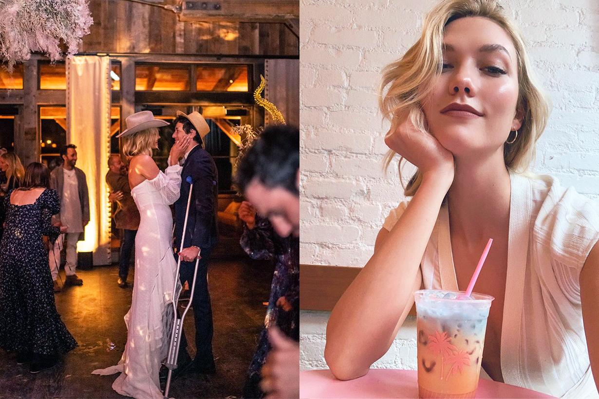Karlie Kloss  Joshua Kushner married celebrities couples Lean on me instagram photo Pregnant rumours  just love french fries