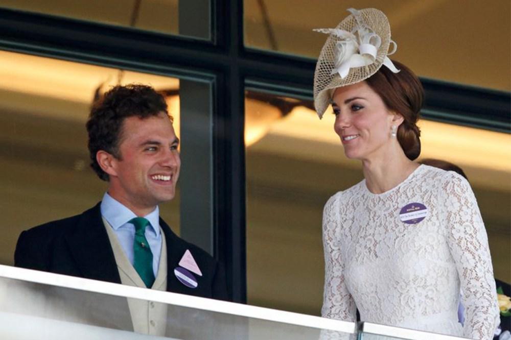 Prince George's teacher Thomas van Straubenzee engagement