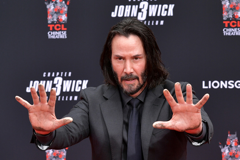 Keanu Reeves will join marvel ceo Kevin Feige confirm