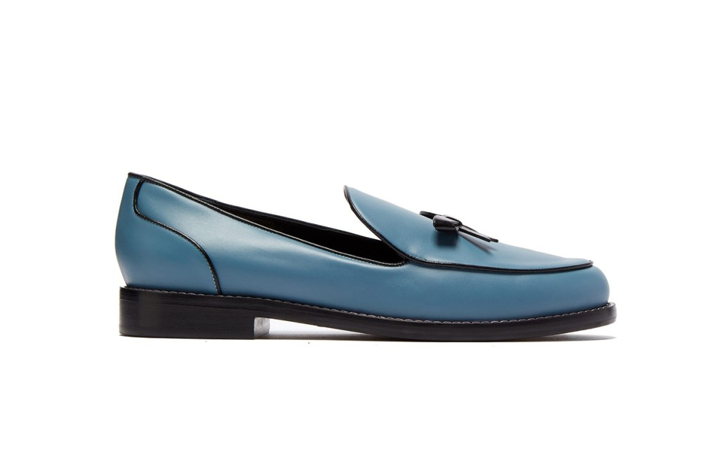 Keaton Bow Leather Loafers