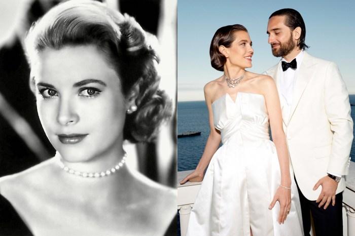 Grace Kelly 星三代孫女,帶你看摩洛哥叛逆公主 Charlotte 兩套絕美訂製婚紗!