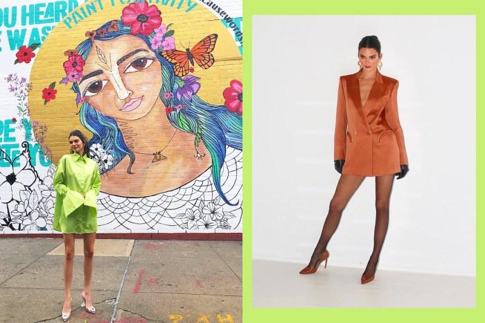 Kendall Jenner 街拍照再度成為熱話, 豹紋連身裙竟然來自我們都愛的品牌!
